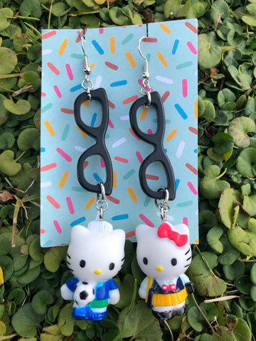 Lil' Miss Grody -  HK handmade earrings