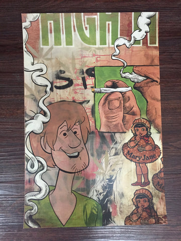 Shaggy's Dream print by Mark Matlock