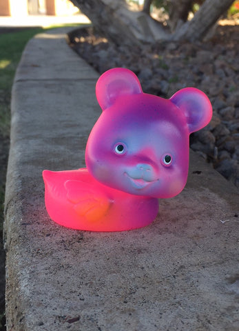 Bear Quackers - GID Pink
