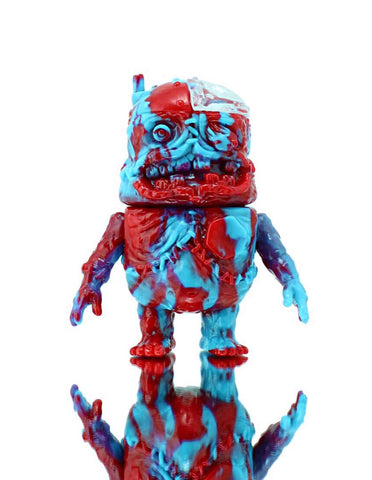 Mecha Cadaver Kid - red/lt blue