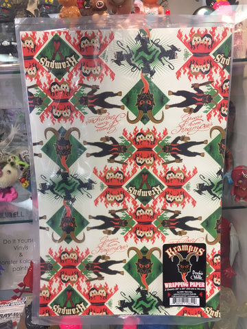 Krampus Gift Wrap - SALE!
