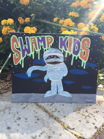 Swamp Kids Mummy by Blurble