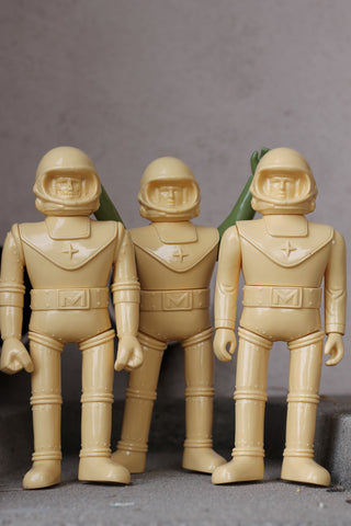 Super Space Dudes - unpainted tan - blind