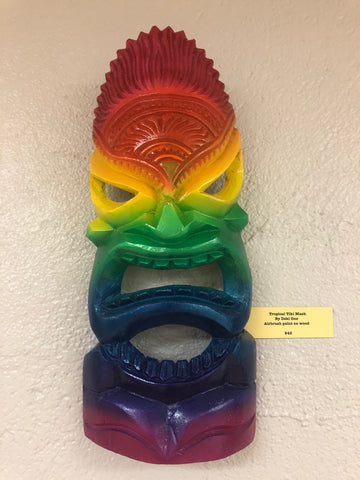 Tropical Tiki Mask by Dski One
