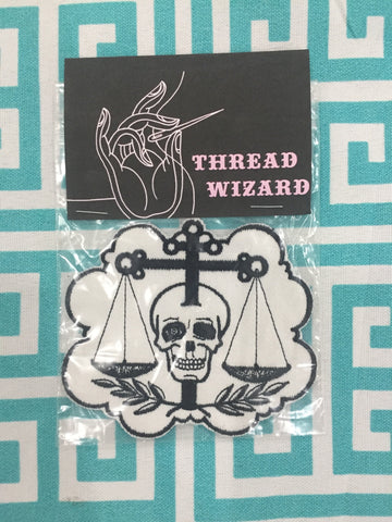 Skull/Scale Patch by Thread Wizard