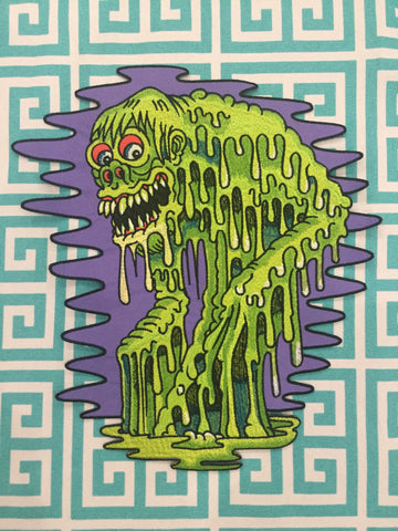 Aaron Coleman Monster Back Patch by Thread Wizard