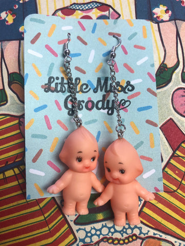 Lil' Miss Grody -  cupie earrings - select style