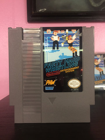 PHW NES Pro Wrestling Game *for charity*