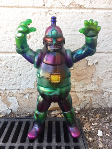 Tetsujin 28 Custom by Dski One - clear green with LED