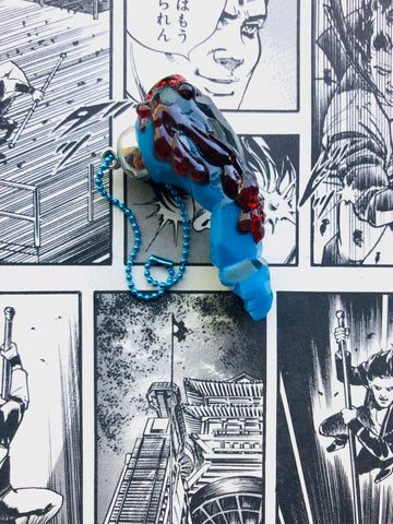 Grody Shojo Arm Charm - blue/red
