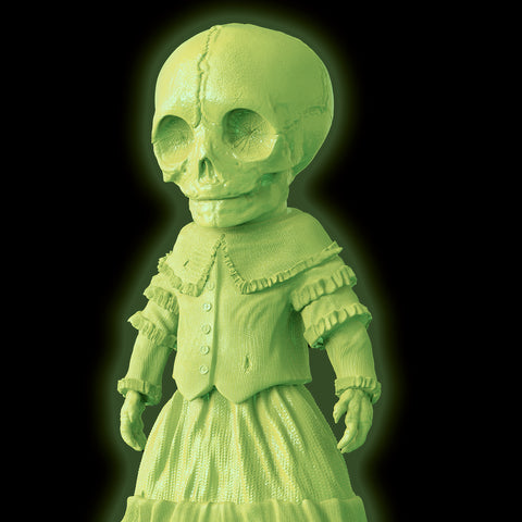 Skellene Mourning Doll - unpainted GID **