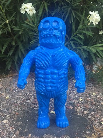 Death BOBO - bright blue unpainted