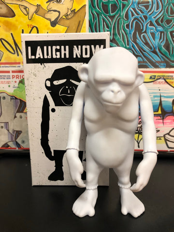 Laugh Now Monkey - blank