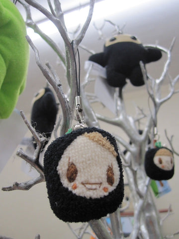 Black Apple Ringo plush strap - asst - SALE!