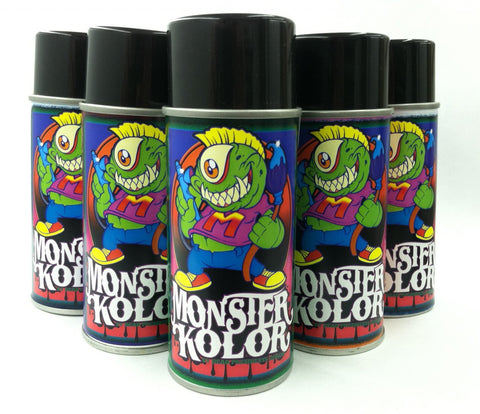 Monster Kolor Aerosol Spray Cans - 6oz.