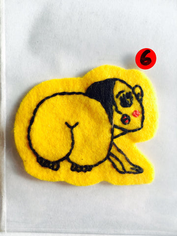 Itoyo Hand Stitched Patch - No. 6