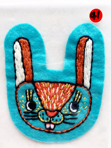 Itoyo Hand Stitched Patch - No. 41
