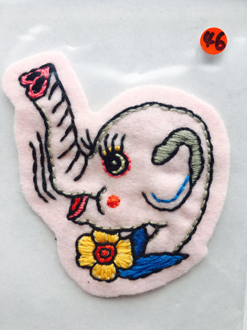 Itoyo Hand Stitched Patch - No. 46