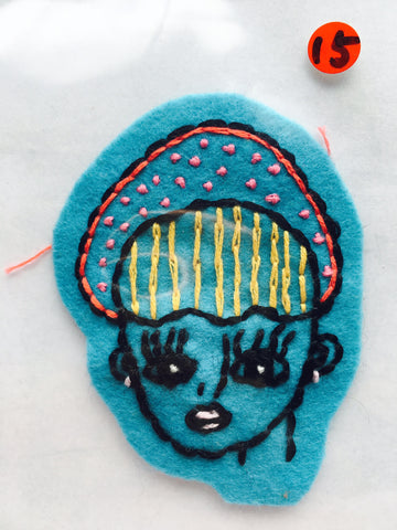 Itoyo Hand Stitched Patch - No. 15