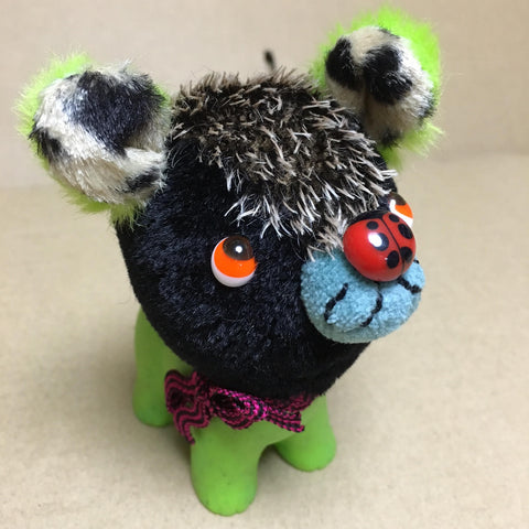 "RABiLy 4"" Grody plush - Black Dog **"