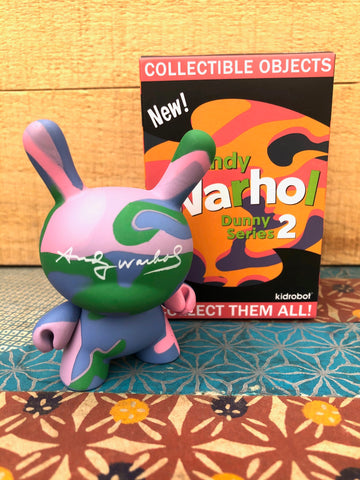 "Andy Warhol 3"" Dunny series 2 - blind box - SALE!"