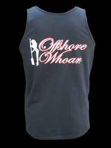 Mens Logo Tank Top Black - offshorewhoar