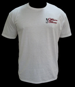 Mens Fishing Team T-Shirt White - offshorewhoar