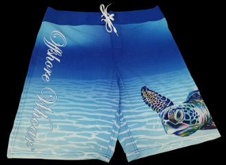 Board Shorts Turtle - offshorewhoar