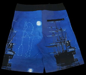 Board Shorts Pirate Ship - offshorewhoar