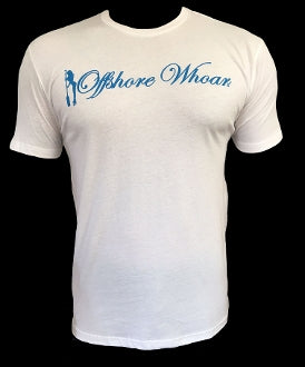 Free Diver Tee White - offshorewhoar