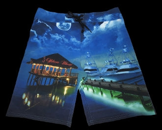 Board Shorts Tiki Dock - offshorewhoar