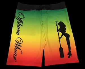 Board Shorts Rasta - offshorewhoar