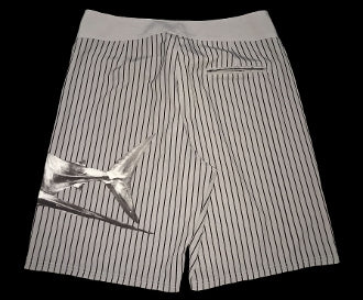 Board Shorts Shark Grey - offshorewhoar