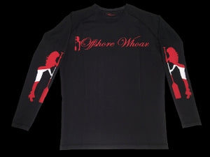 Diving Rash Guard Red - offshorewhoar