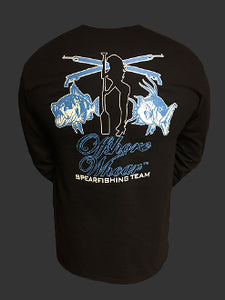 Spearfishing Team Long Sleeve Shirt - offshorewhoar