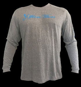 New Mens Performance Fishing Team Long Sleeve - offshorewhoar