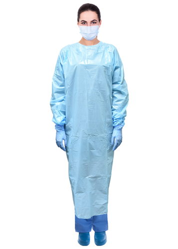 Armor™ Premium Disposable Plastic Non-Surgical Isolation Gowns