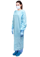 Load image into Gallery viewer, Armor™ Premium Disposable Plastic Non-Surgical Isolation Gowns