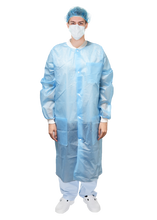 Load image into Gallery viewer, Disposable Button-Up Isolation Gown