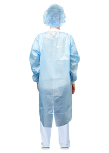Disposable Button-Up Isolation Gown