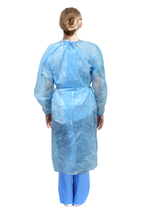 Disposable Non-Woven Isolation Gowns