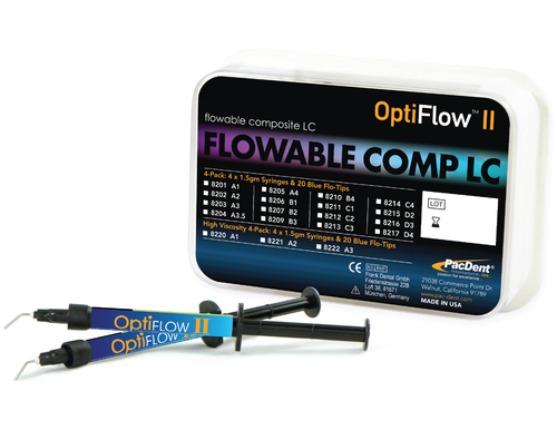 OptiFlow™ II, Nano Flowable Composites, LC