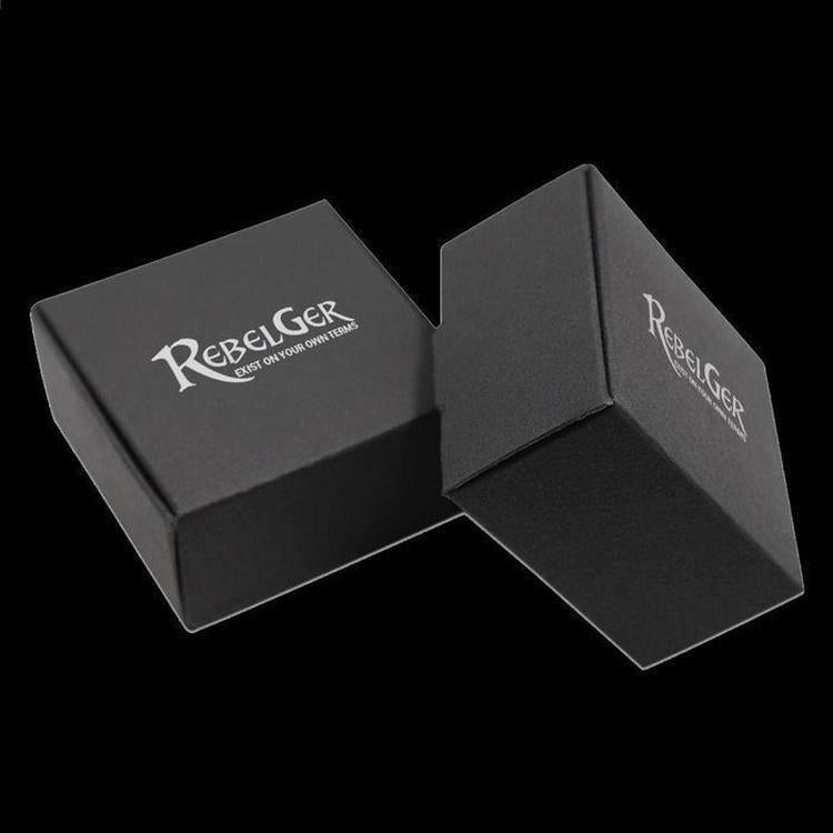 3 SKULLS HEAD 925 RING - Rebelger.com