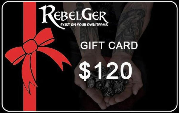 Electronic Gift Card - Rebelger.com
