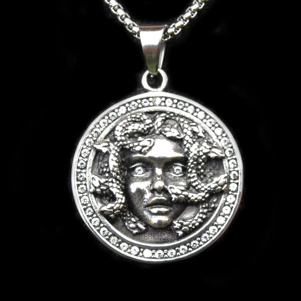 MEDUSA NECKLACE - Rebelger.com