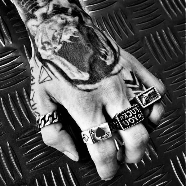 ACE OF SPADES RING-Rebelger.com