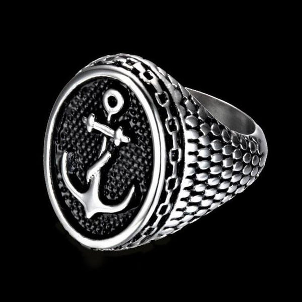 ANTIQUE ANCHOR RING - Rebelger.com