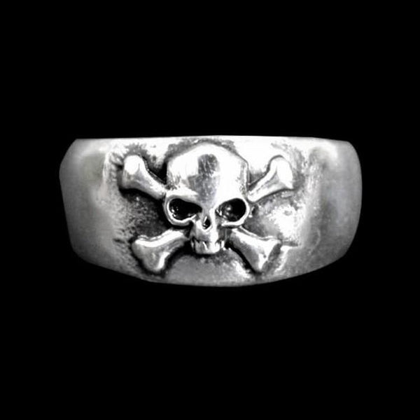 ANTIQUE CROSS BONE RING-Rebelger.com