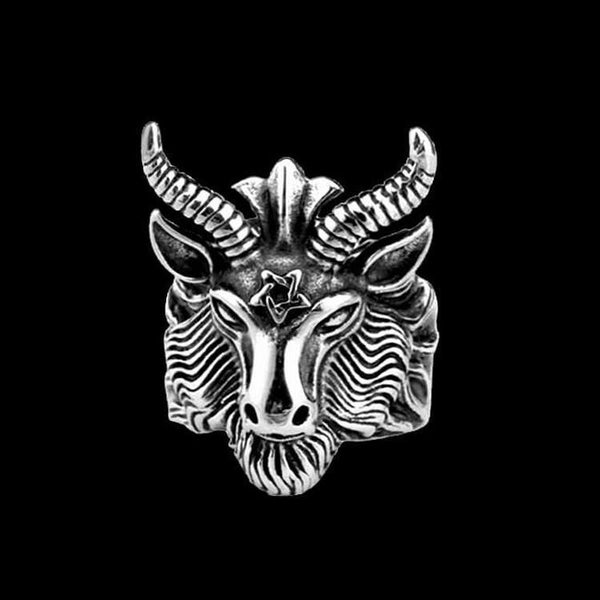 BAPHOMET RING - Rebelger.com