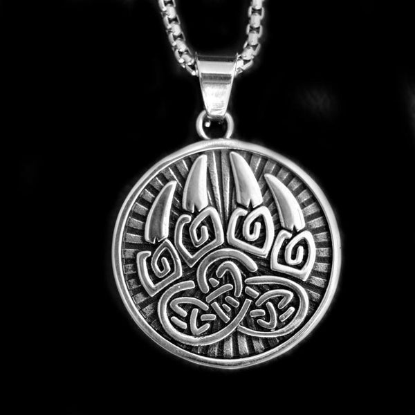 BEAR PAW NECKLACE - Rebelger.com